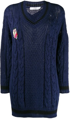 Mr & Mrs Italy Chunky Knit Jumper