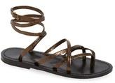 K Jacques St Tropez Women's K.jacques St. Tropez Strappy Ankle Wrap Sandal