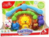 Little Treasures Baby Toy Activity Center - Mobile crib hanging toy full of colorful cartoon shapes for babies