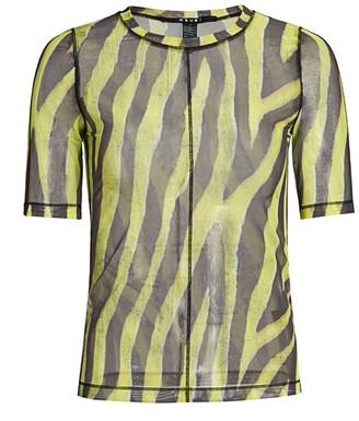 Ksubi Zebra Mesh T-Shirt
