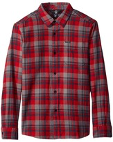 Volcom Hewitt Flannel Long Sleeve Shirt (Big Kids)