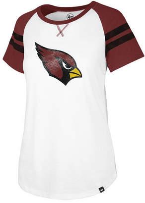 '47 Women Arizona Cardinals Flyout Raglan T-Shirt