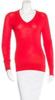 Derek Lam Cashmere & Silk-Blend Long Sleeve Sweater