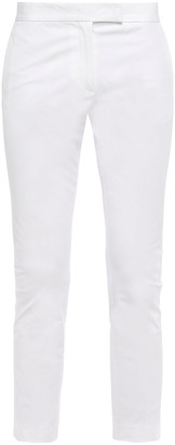 Joseph Cropped Stretch Cotton-twill Slim-leg Pants