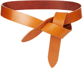 Etoile Isabel Marant Lecce leather knot waist belt