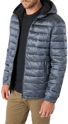 7 Diamonds Eureka Reversible Hooded Puffer Coat