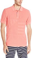 Nautica Men's Pique Sun Washed Polo