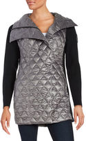 Calvin Klein Quilted Down Contrast Jacket