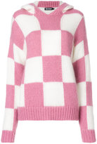 House of Holland checked jumper