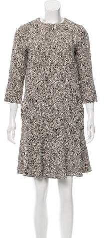 Chloé Flounced Mini Dress