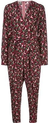 Stella McCartney Floral Tie-Waist Jumpsuit