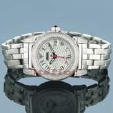 Aqua Master Women's Round Diamond Watch, 1.20 ctw,Stainless