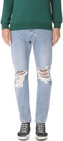 MSGM Destroyed Denim Jeans