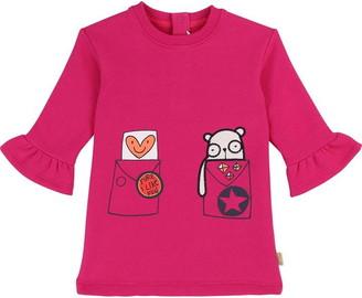 Little Marc Jacobs Girls Pink Dress