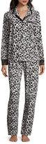 Liz Claiborne Fleece Pant Pajama Set