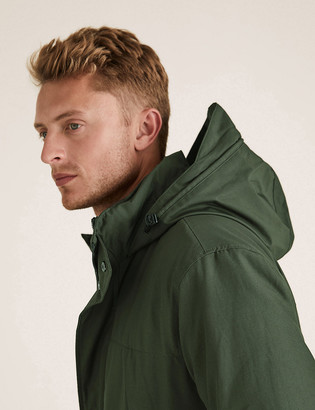 Marks and Spencer Double Collar Technical Jacket with Stormwear