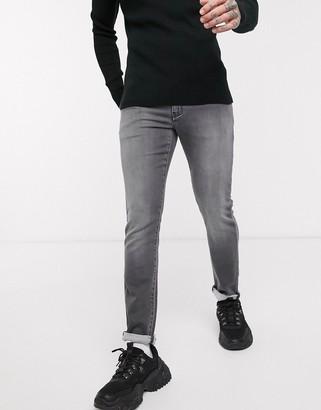 Armani Exchange J14 skinny fit jeans in gray wash