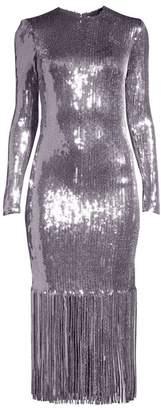 Rebecca Vallance Matisse Fringe Hem Sequin Midi Dress