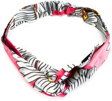 Gucci floral knot front headband