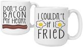 Cathy's Concepts 'Bacon & Eggs' Ceramic Coffee Mugs
