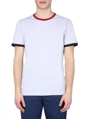 Brunello Cucinelli Contrasting Trim T-Shirt