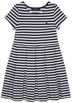 Polo Ralph Lauren Striped Pleated Dress
