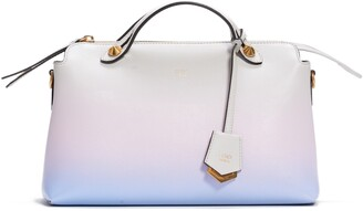 Fendi Medium By the Way Ombre Leather Satchel