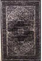 Linon Platinum Collection Heriz Grey Persian Modified Polyester Area Rug (2' x 3') (Overstock Exc