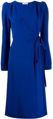 P.A.R.O.S.H. Fitted Wrap Dress