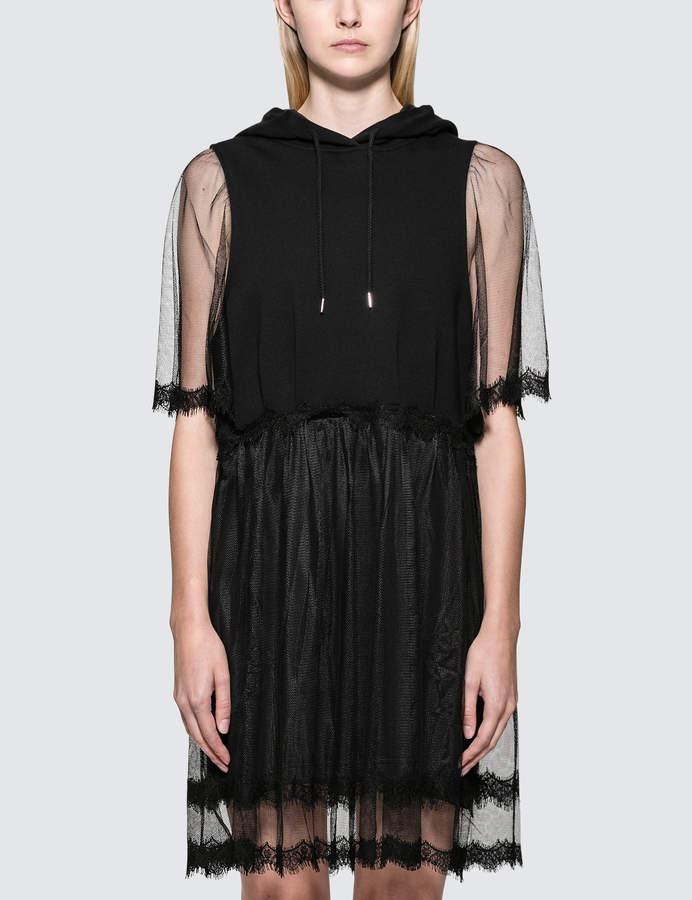McQ Hybrid Hoodie Dress