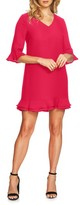 CeCe Women's Kate Ruffle Shift Dress