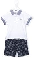 Armani Junior polo shirt and shorts