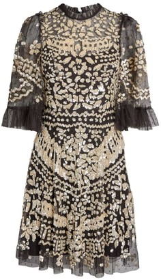 Needle & Thread Sequin Anais Mini Dress