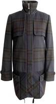 CNC Costume National Blue Wool Coat for Women