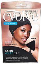 Evolve Black Satin Wrap Cap