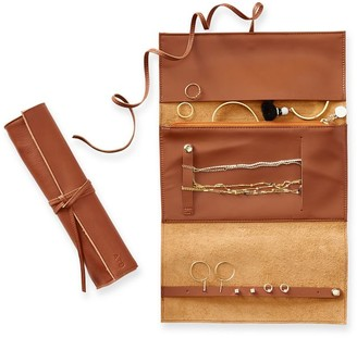 Mark And Graham Leather Jewelry Roll Up
