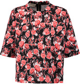 Marni Floral-print cotton-blend top