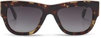 Mulberry Jon Sunglasses Tortoiseshell and Black Acetate