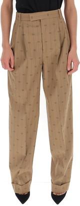 Gucci Interlocking G Striped Trousers