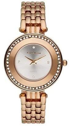 Jean Bellecour Jean-Bellecour REDT25 Women's Quartz Analogue Watch-Silver Dial, Rosé Steel Bracelet