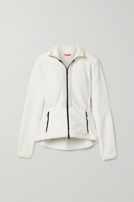 Erin Snow Freja Fleece Ski Jacket - White