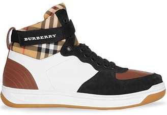 Burberry high-top sneakers
