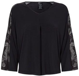 Calvin Klein Lace Trim Pyjama Top