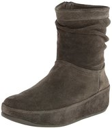 FitFlop Women's Zip Up Crush Suede Boot