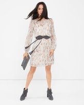 White House Black Market Geo-Print Boho Dress
