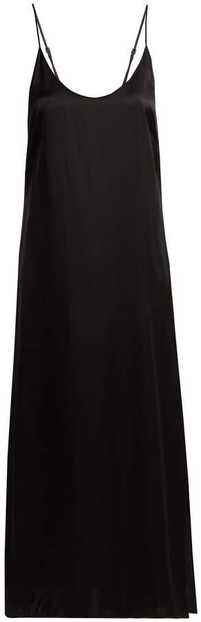 Araks Quies silk-satin dress