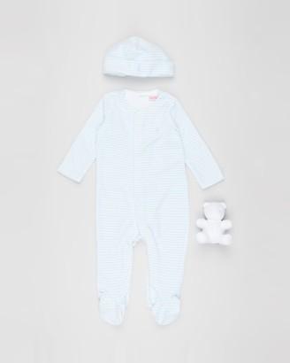 Polo Ralph Lauren Striped Velour Gift Set - Babies