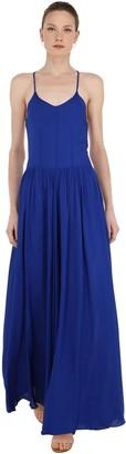 Cc By Camilla Cappelli Sleeveless Viscose Crepe Maxi Dress