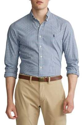 Polo Ralph Lauren Classic-Fit Plaid Long-Sleeve Shirt
