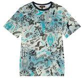 Roberto Cavalli Tattoo Print T-Shirt